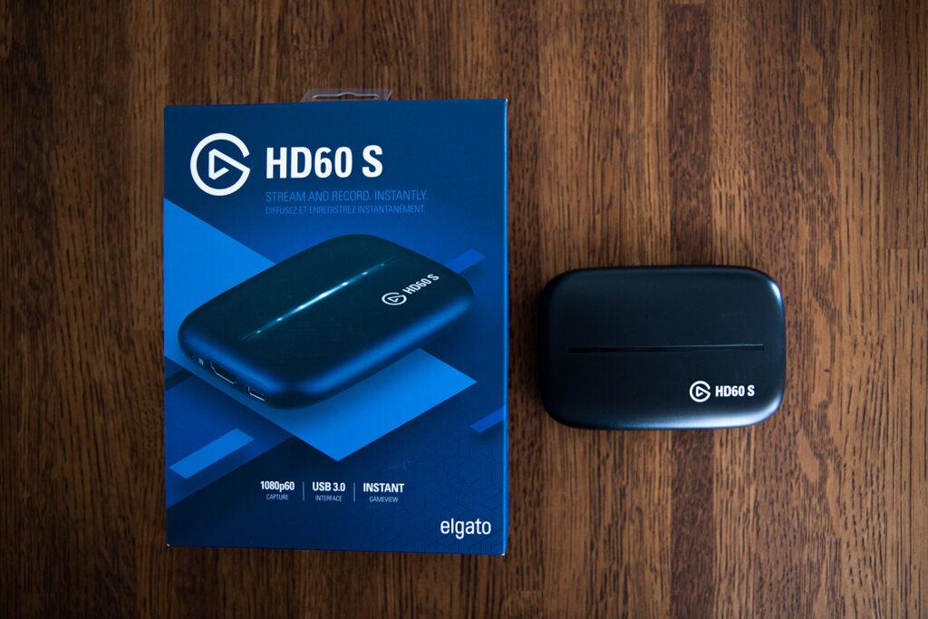 Game Capture HD 60Sのパッケージと外観の写真